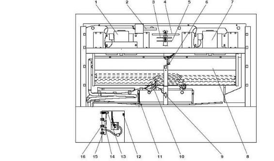 Рисунок 8- Схема холодильного